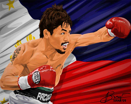 20 Graphic Tributes To Manny Pacman Pacquiao