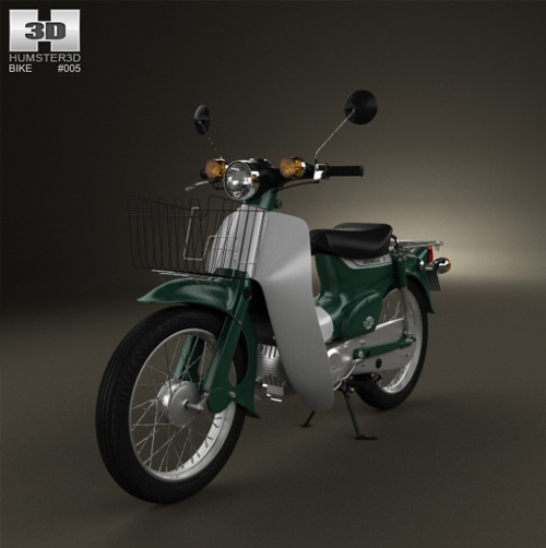 20 Photorealistic Examples Of Motorcycle 3d Models