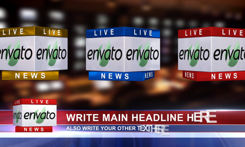 Breaking News 20 After Effects News Templates