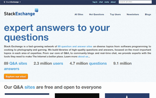 20+ Question and Answer Sites that Answer Questions