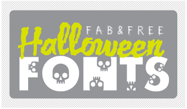 20 Most Popular Free Halloween Fonts from Dafont