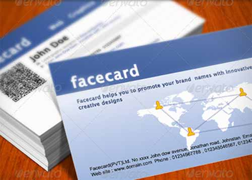 Quick Responsive Facebook Business Card