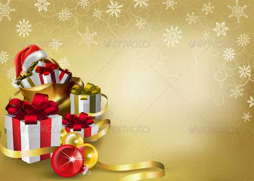 Christmas Invitation Background Png.20 Sets Of Christmas Background For Creating Wallpapers