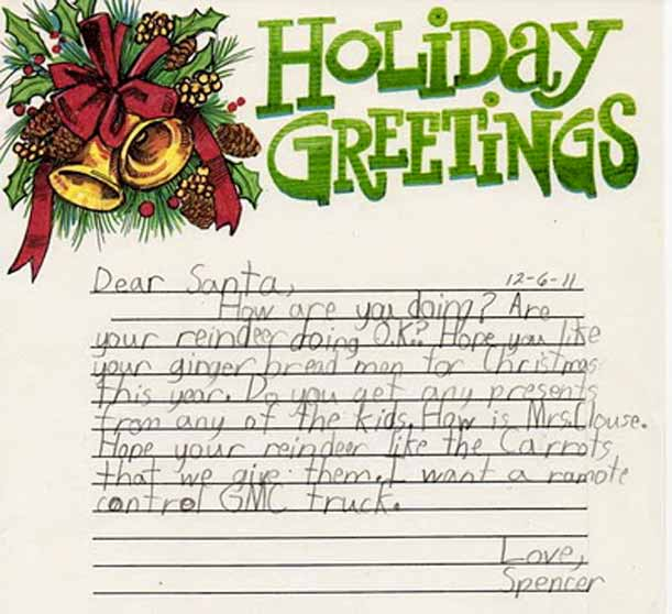 Christmas Letter Ideas.Christmas Letter To Santa Claus 25 Funny Ideas