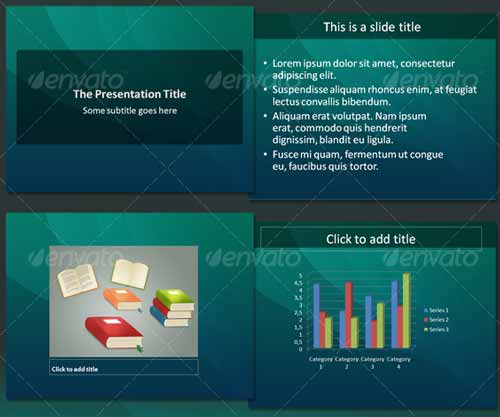 32 Professional Powerpoint Templates For Better Business: 20 Unique Abstract PowerPoint Design Templates