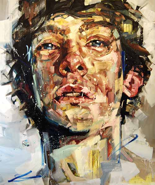 Large-Scale Figurative Paintings By Andrew Salgado