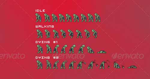 20 Excellent Examples of Game Sprite Sheets