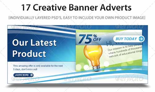 Free And Premium Web Banner Template Collection Psd