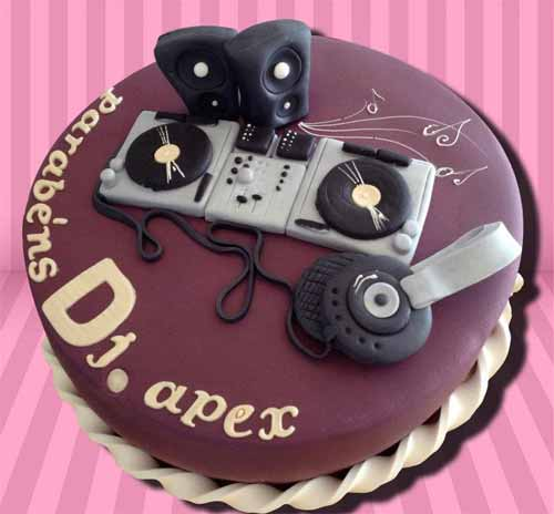 20 Mouthwatering Ideas For Music Cake Designs