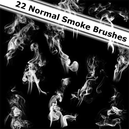 20 Free Smoke Brush Sets for Adobe Photoshop