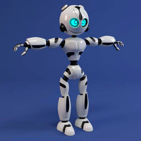 Welcome to the Future - 20 Modern 3D Robot Models