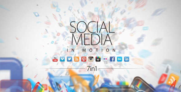 20 Social Media Inspired After Effects Templates