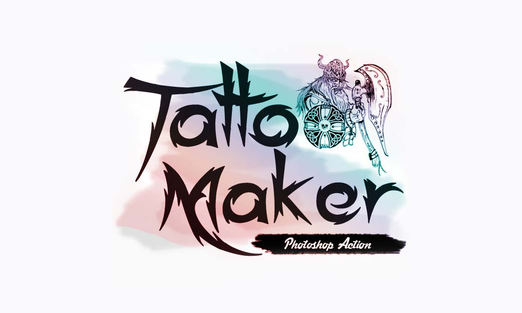 Photoshop Action of the Day: Tattoo Maker Tool