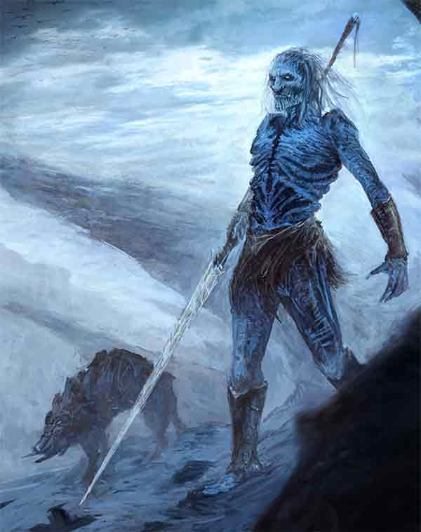 Beyond The Wall 15 White Walkers Concepts And Artworks