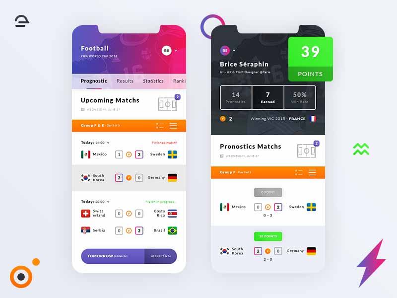 20 Free iPhone X App UI Kit PSD for iOS Designers and Developers
