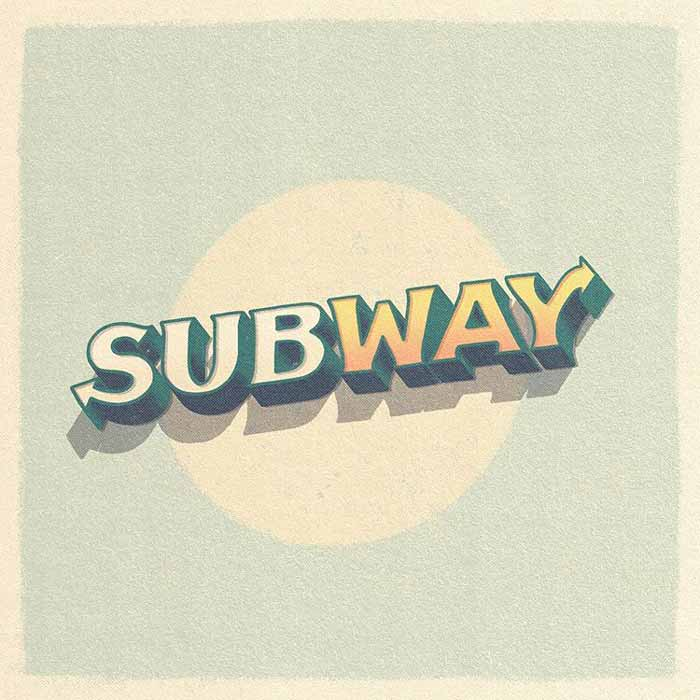 Vintage Subway Logo Design