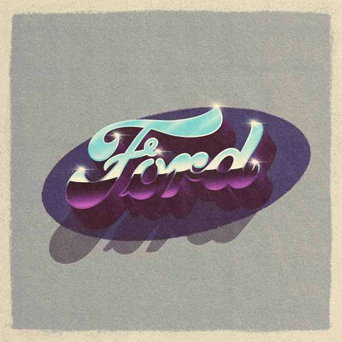 Vintage Ford Logo Design